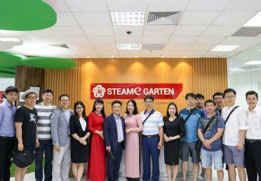 Đoàn hiệu trưởng Hàn Quốc tới thăm quan STEAMe GARTEN