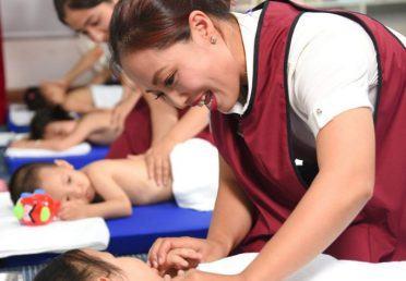 Phương pháp Massage cho trẻ dưới 3 tuổi tại STEAMe GARTEN