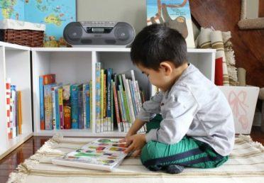 "10 tips to help children ""crazy"" with reading books"
