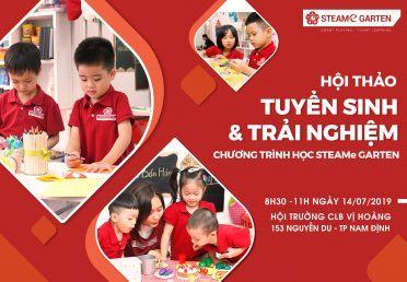 Hội thảo tuyển sinh và trải nghiệm chương trình học STEAMe tại Nam Định
