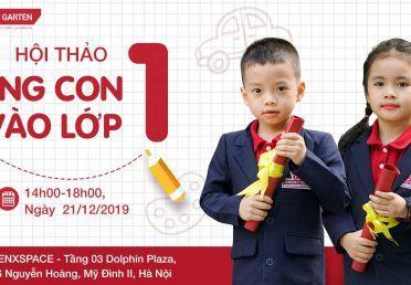 """""""HELLO GRADE 1"""" HỘI THẢO CÙNG CON VÀO LỚP 1"""