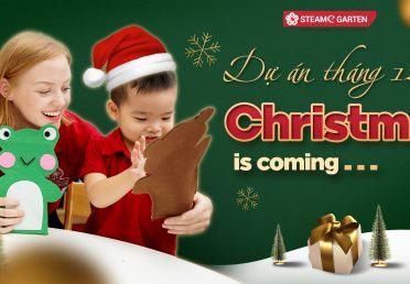 DỰ ÁN THÁNG 12 – CHRISTMAS IS COMING…