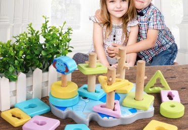 Đồ chơi giáo trí – Truyền cảm hứng cho bé qua việc chơi