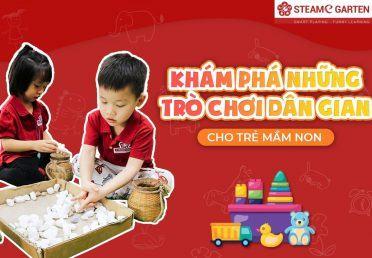 Khám phá những trò chơi dân gian cho trẻ mầm non